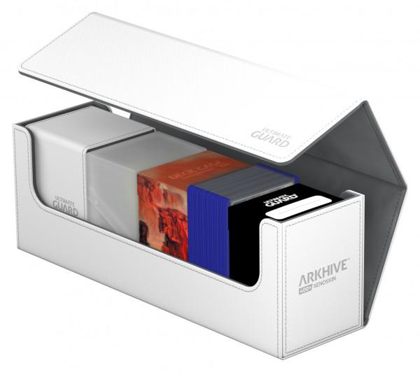 Flip Deck Case 400+ Arkhive Standard Size XenoSkin&trade White