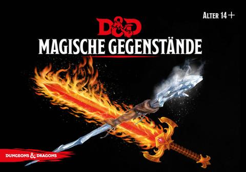 D&D RPG - Kartenset: Magische Gegenstände de.