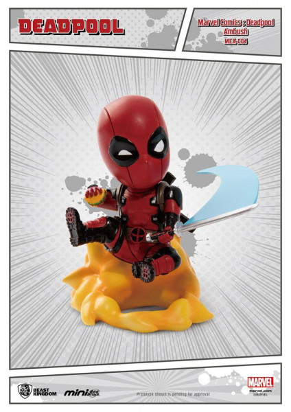 Marvel: Deadpool Mini Egg - Ambush 9 cm