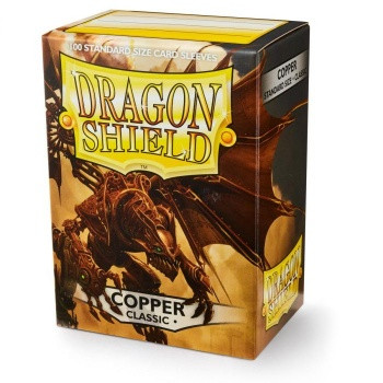 Dragon Shield Card Sleeves Copper (100)