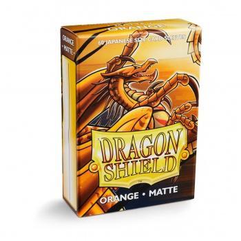 Dragon Shield Small Card Sleeves Matte Orange (60)