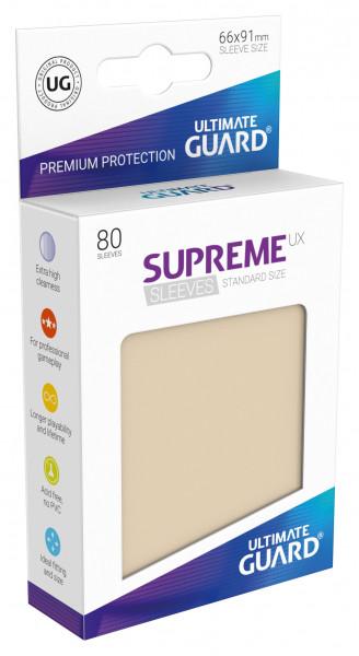 Supreme Sleeves Standard Size UX Sand (80)