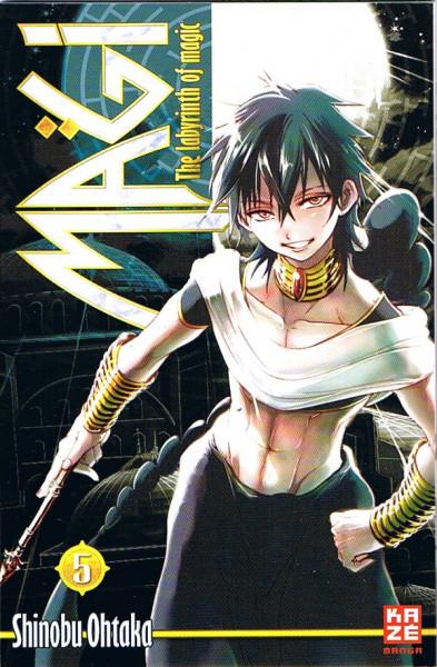 MAGI - The Labyrinth of Magic 05