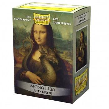 Dragon Shield Matte Art Sleeves - Mona Lisa (100 Sleeves)