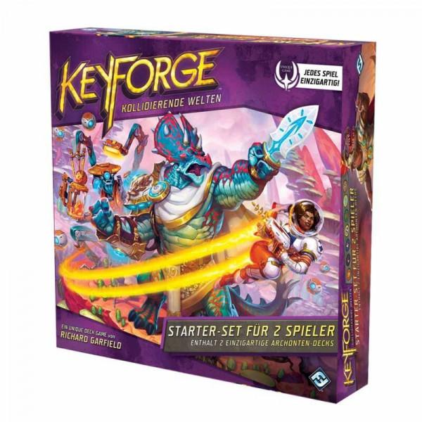 KeyForge: Kollidierende Welten - Starter Set DT