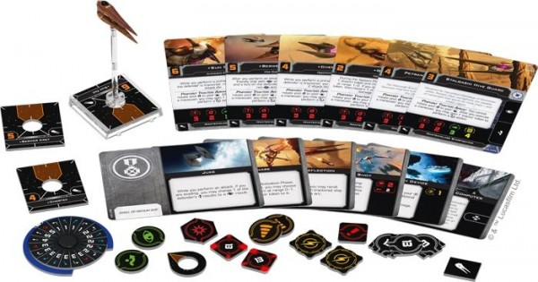 X-Wing 2. Edition: Sternenjäger der Nantex-Klasse