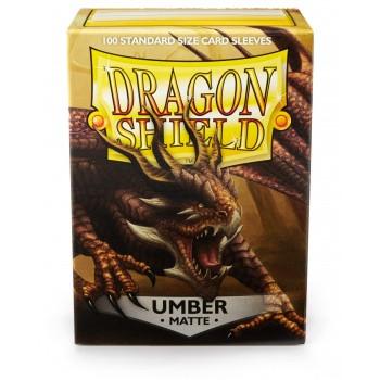 Dragon Shield Card Sleeves - Matte Umber (100)