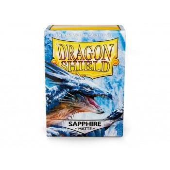 Dragon Shield Card Sleeves - Matte Sapphire (100)
