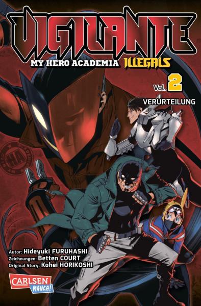 Vigilante My Hero Academia Illegals 02