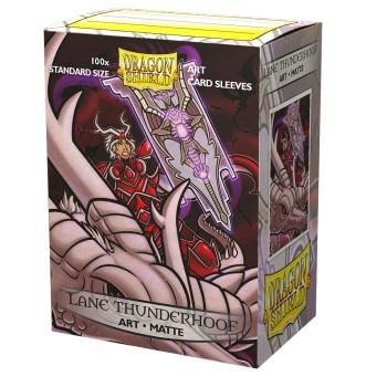Dragon Shield Art Sleeves Matte - Lane Thunderhoof Portrait (100)