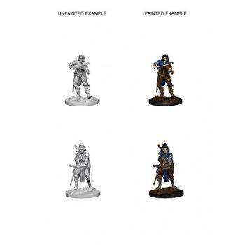 Pathfinder Deep Cuts Unpainted Miniatures: W4 Elf Female Bard