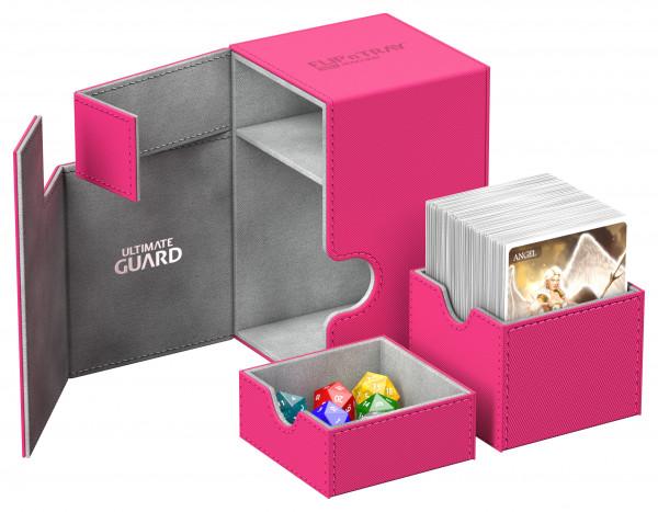 Flip´n´Tray Deck Case 100+ Standard Size XenoSkinTM Pink