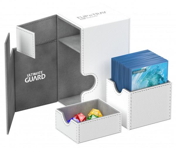 Flip´n´Tray Deck Case 80+ Standard Size XenoSkinTM White