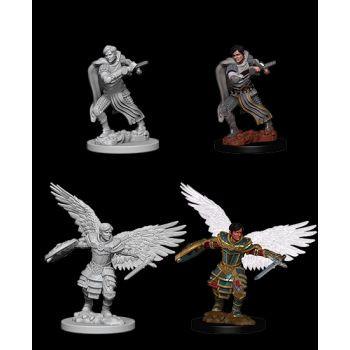 Dungeons & Dragons Nolzur`s Marvelous Unpainted Miniatures: W6 Male Aasimar Fighter