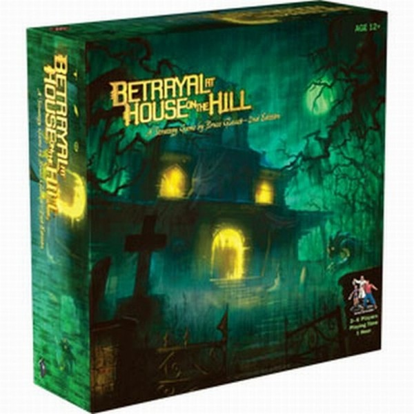Betrayal at House on the Hill: 2nd Edition engl