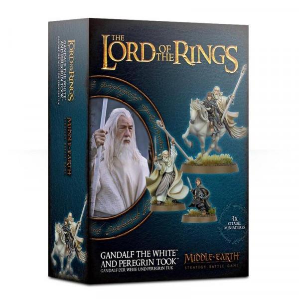 Gandalf Der Weiße Und Peregrin Tuk (30-40)