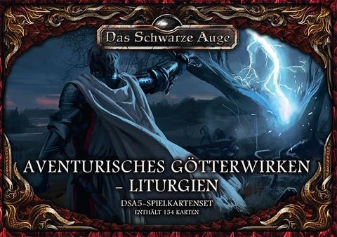 DSA5: Aventurisches Götterwirken: Liturgien (Kartenset)