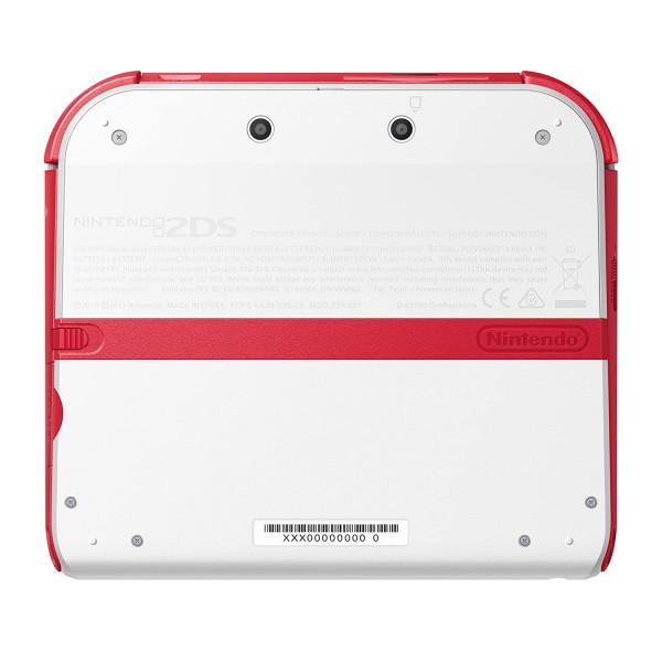 Nintendo 2DS Konsole - rot/weiß (OVOA) **
