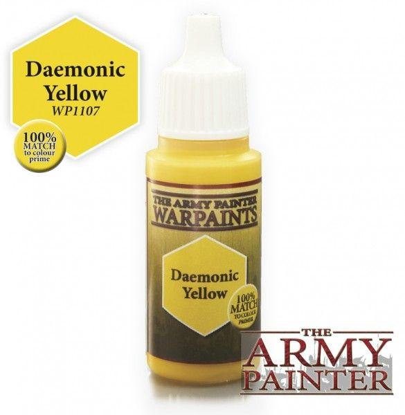 Army Painter Paint: Daemonic Yellow