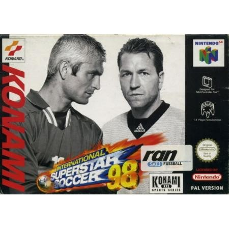 International Superstar Soccer 98 CIB