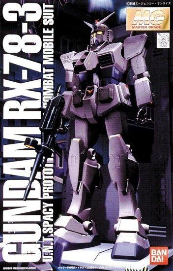 Gundam: 1st - Master Grade G-3 Gundam - 1:100 Model Kit