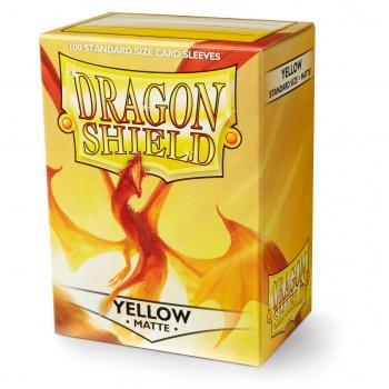 Dragon Shield Card Sleeves - Matte Yellow (100)