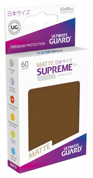 Supreme Sleeves Japan Size Matt UX Brown (60)