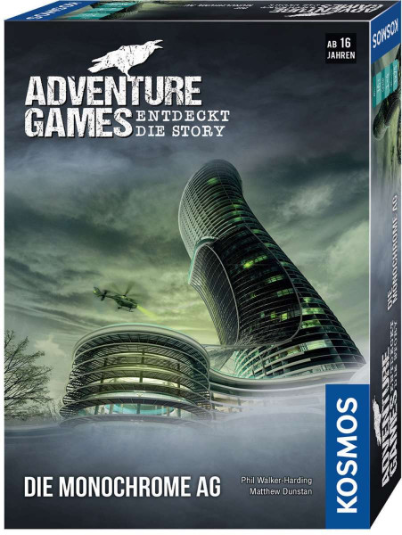 Adventure Games - Die Monochrom AG