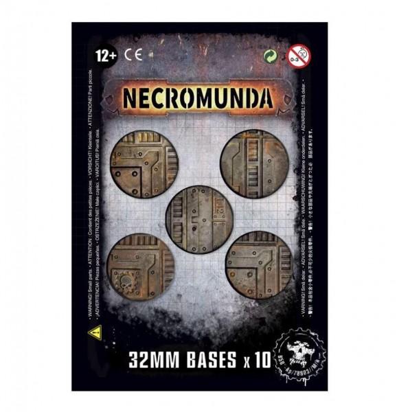 Necromunda 32mm Bases (X10) (300-16)