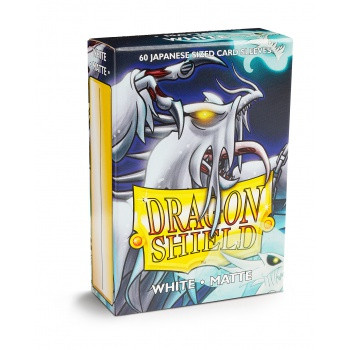 Dragon Shield Small Card Sleeves Matte White (60)