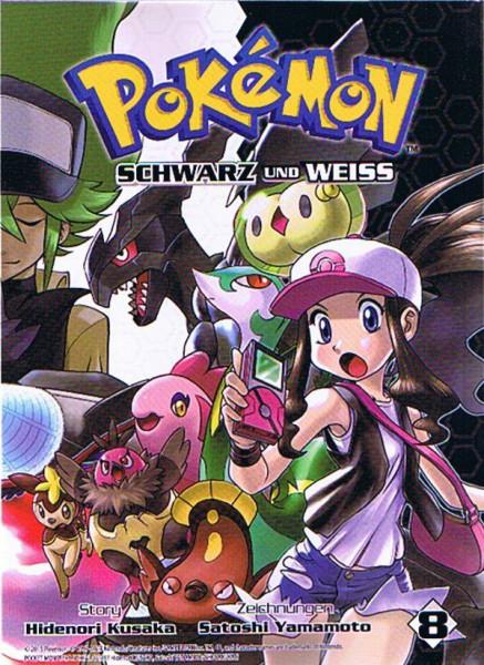 Pokemon – Schwarz und Weiss Band 08