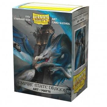 Dragon Shield Art Sleeves Matte - Empire State Dragon (100)