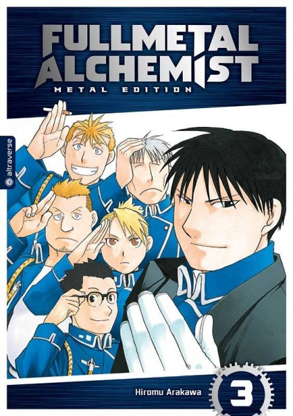 Fullmetal Alchemist  - Metal Edition - 03