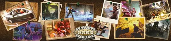 Savage Worlds - Abenteueredition: Spielleiterschirm