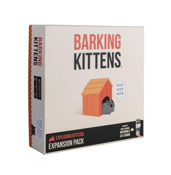 Exploding Kittens: Barking Kittens Expansion Pack