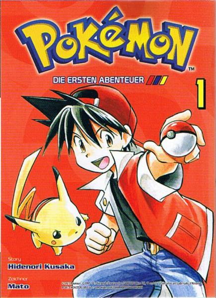 Pokemon – Die ersten Abenteuer Band 01