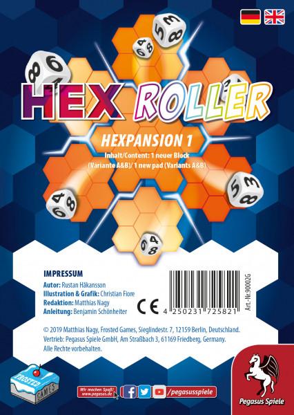 Hex Roller: Hexpansion 1