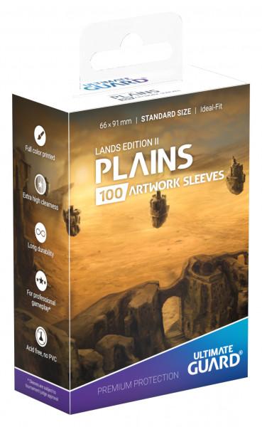 Supreme Sleeves Standard Size Lands Edition Plains 2 (100)
