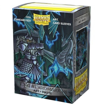 Dragon Shield Art Sleeves Matte - King Athromark III: Portrait (100 Sleeves)
