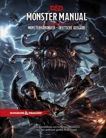 D&D RPG - Monsterhandbuch