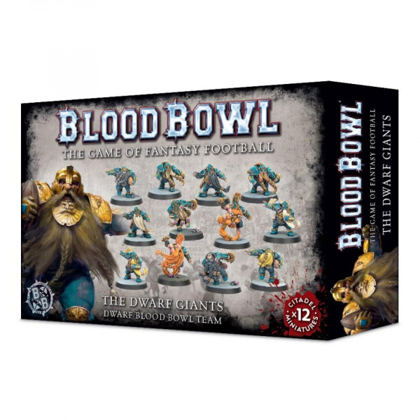 Blood Bowl: Dwarf Team