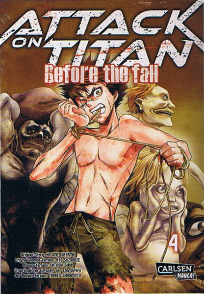 Attack on Titan - Before the Fall 04