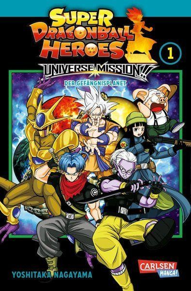 Super Dragon Ball heroes Universe Mission 01