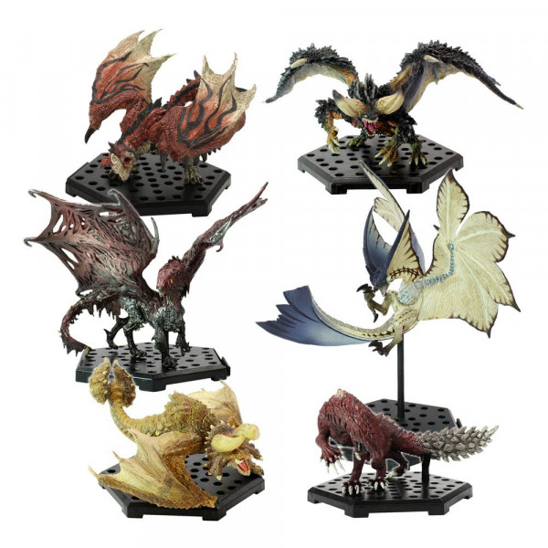 Monster Hunter Trading Figures CFB MH Standard Model Plus THE BEST Vol. 9-10-11 Assortment (6)