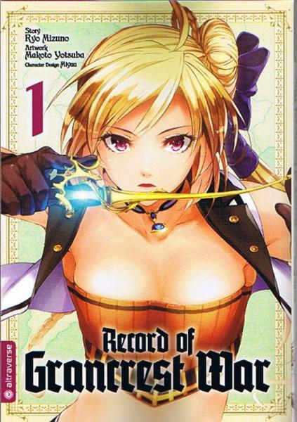 Record of Grancrest War 01