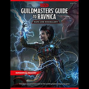 D&D RPG - Guildmasters Guide to Ravnica RPG Maps and Miscellany en.