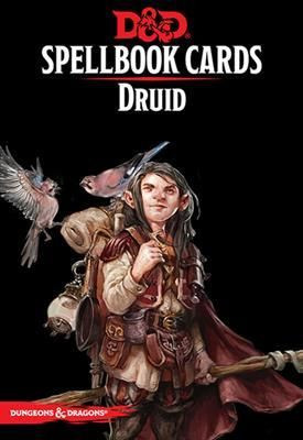 D&D RPG - Spellbook Cards: Druid Deck