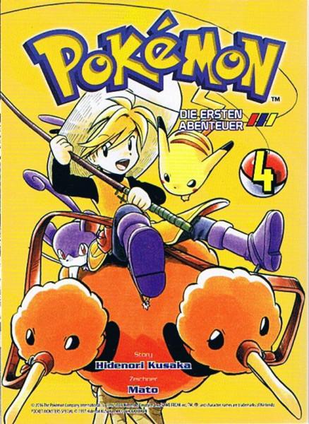 Pokemon – Die ersten Abenteuer Band 04
