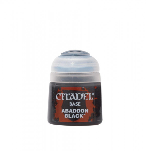 Citadel Base: Abaddon Black (12ml)