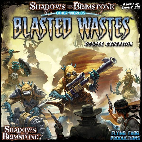 Shadows of Brimstone: OtherWorlds - Blasted Wastes [Expansion] EN